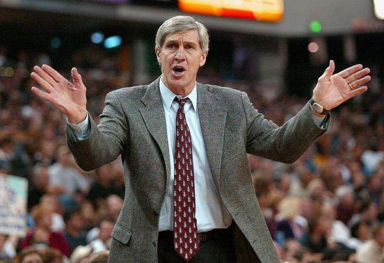 Jerry Sloan fue entrenador en jefe de Utah Jazz durante 23 años.