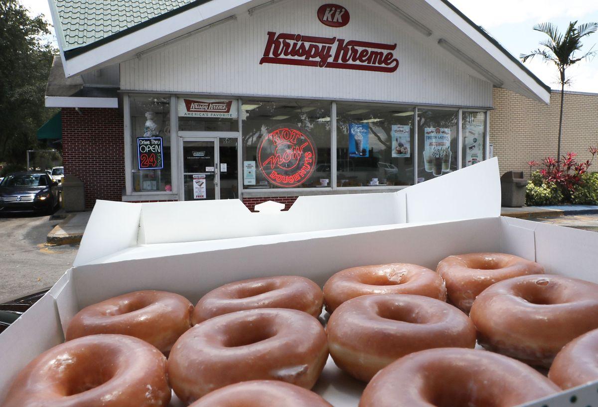 Krispy Kreme informó que los precios no serán tan altos con el find e cuidar a sus consumidores.