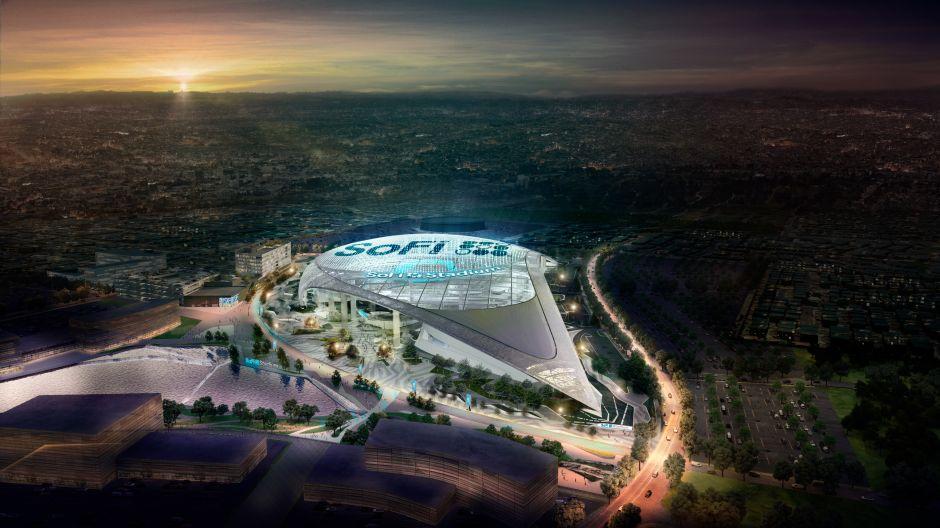 Contra terremotos, con techo de cine y pantalla de 120 yardas: SoFi Stadium,  el estadio de los $5,000 millones de dólares