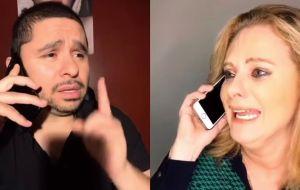 Erika Buenfil y Larry Hernández: El dúo que jamás te imaginaste
