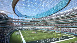 La millonaria inauguración que tendría el SoFi Stadium sin aficionados en sus gradas