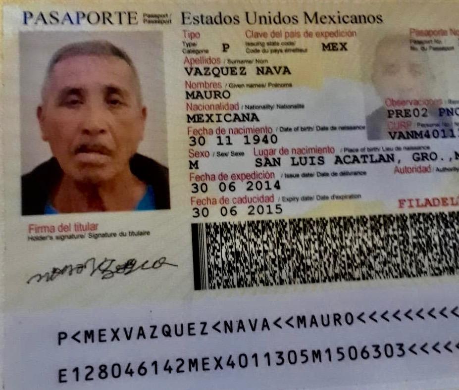 Mauro Vázquez murió por Covid. La familia espera para repatriar el cuerpo.