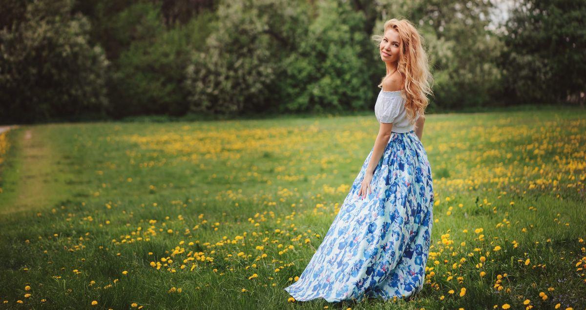 5 maxi vestidos primaverales por menos de $25