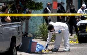 FOTOS: Sicarios así dejaron a mando policiaco al sur de México