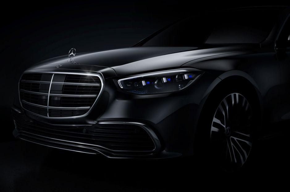 Un adelanto oficial del próximo Mercedes-Benz Clase S