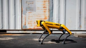 ¡No es pelicula! Perros robots patrullan en Singapur