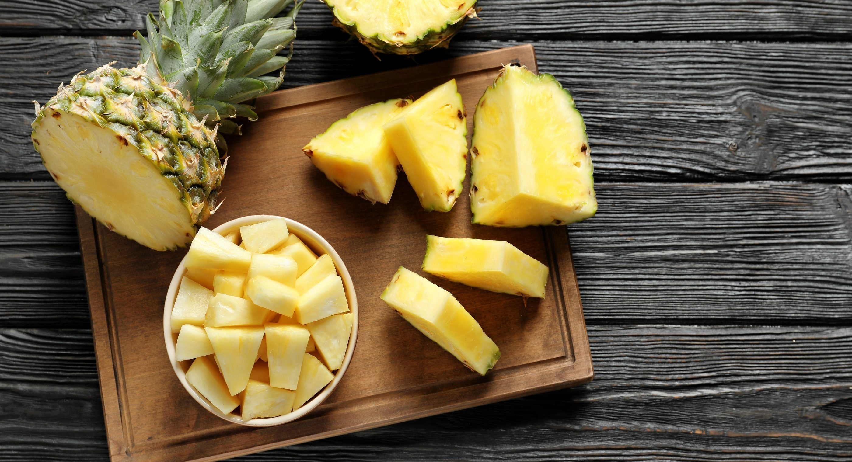 Pineapple supplements.