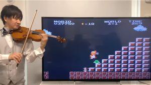 """Teppei Okada, el violinista que hace épica la música de videojuegos como """"Super Mario"""""""