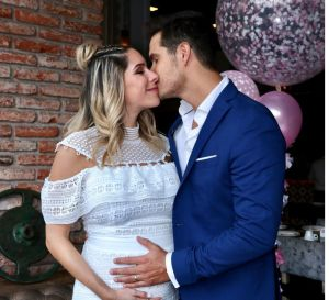 Brandon Peniche y su esposa Kristal Cid dieron positivo a COVID-19