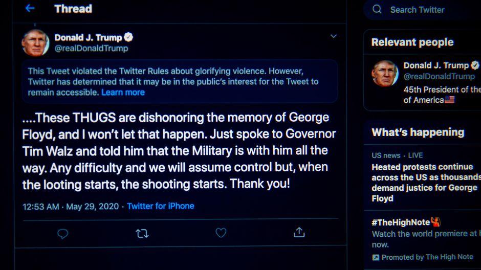 Te explicamos el pleito de Trump contra Twitter y la posición que tomó Facebook
