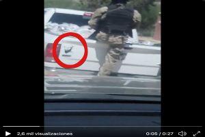 VIDEO: Sicarios del Chapo reparten ayuda por coronavirus con imagen de Osama Bin Laden