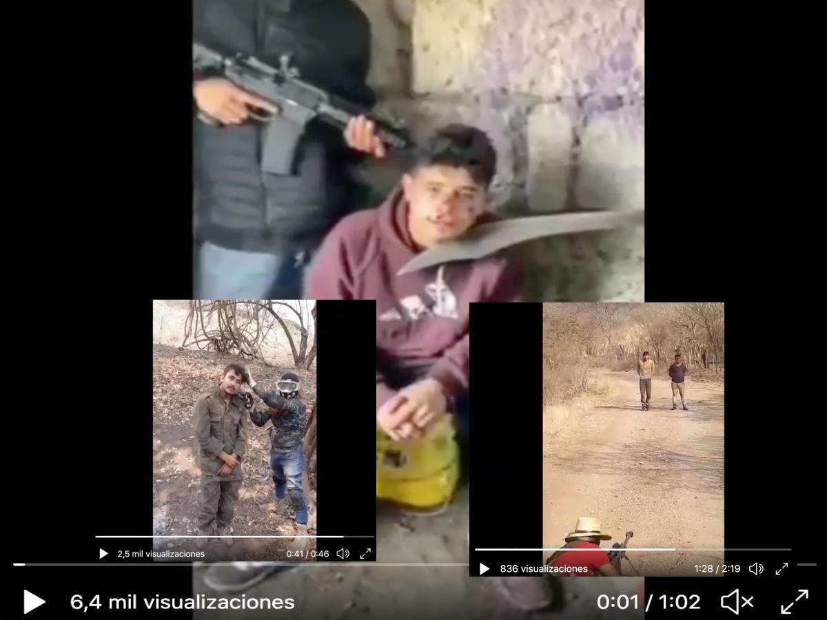 VIDEO: CJNG y Familia Michoacana les pagaban $125 dólares en promedio y los mataron brutalmente
