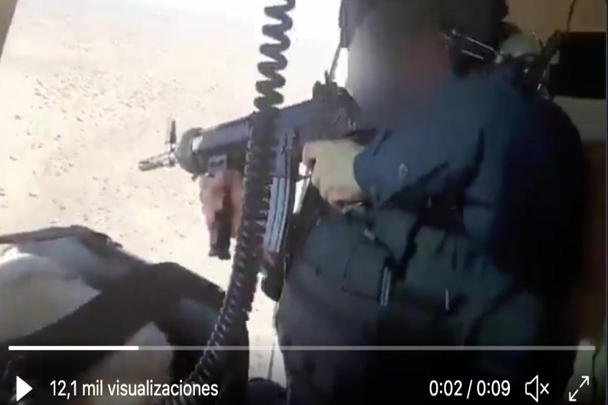 Narcos Escenas Porno video: narcos querían tirar helicóptero pero neutralizan a 4