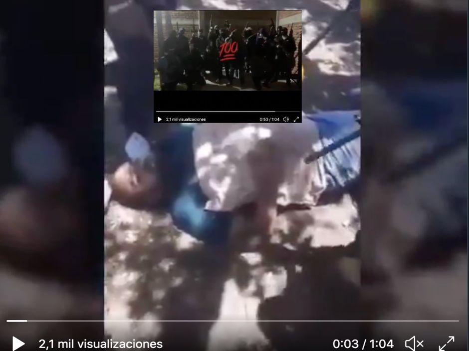 VIDEO: Sicarios del Marro torturan y ejecutan con machetes a hombre por apoyar al CJNG