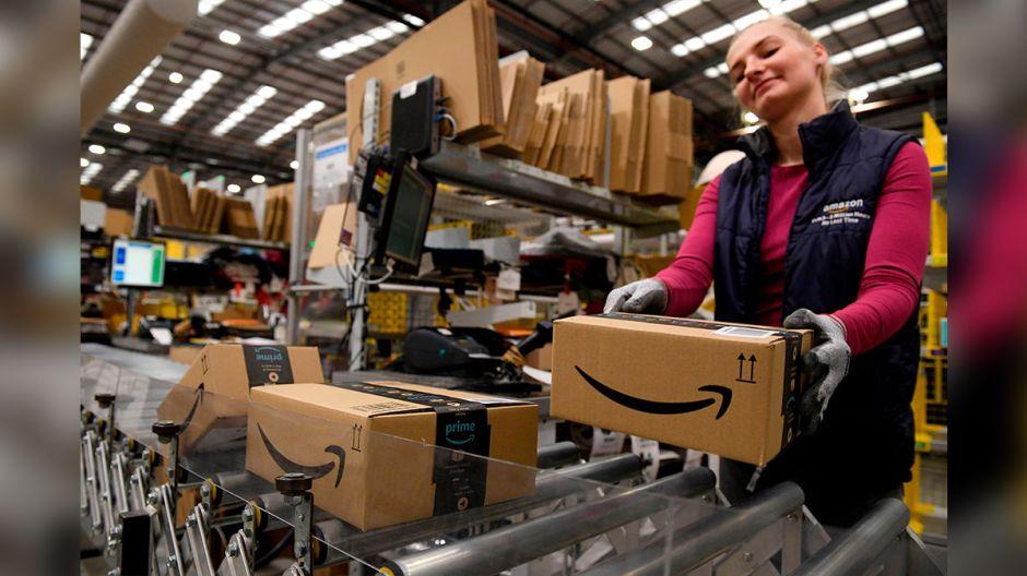 Amazon ofrece empleos permanentes a 125 mil trabajadores temporales