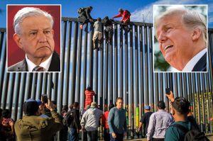 Trump justifica el muro para evitar contagios de coronavirus, aunque México tiene cientos de miles de menos casos