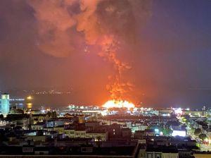 Enorme incendio puso en peligro uno de los sitios emblemáticos de San Francisco
