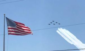 Video y fotos: Los Blue Angels dejaron a Texas feliz y a los trabajadores de la salud con un digno homenaje