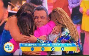Héctor Sandarti deja un mensaje para Adamari López, Rashel Díaz y Chiquibaby y el público estalla