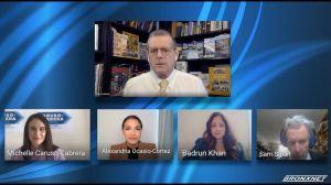 """""""No te metas con mi mamá"""": drama hispano al debatir Ocasio-Cortez y Michelle Caruso por curul de Nueva York en el Congreso nacional"""