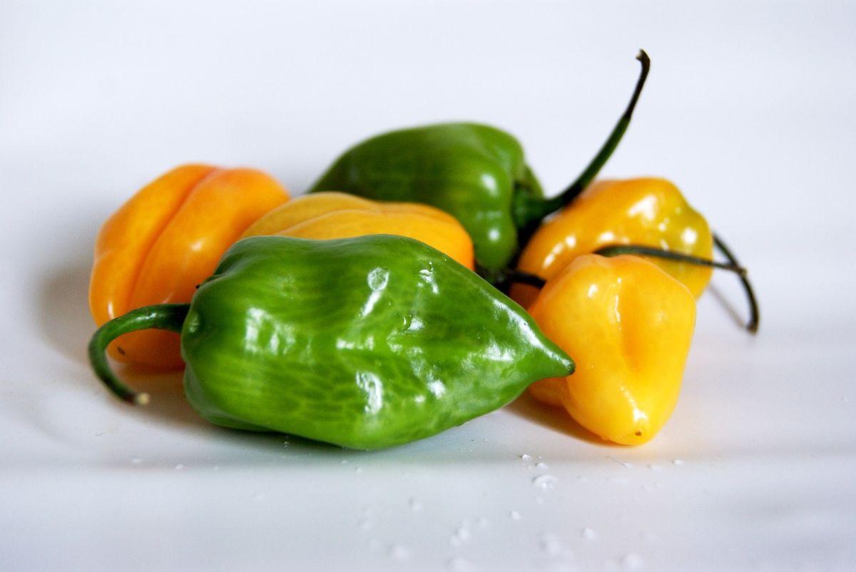 Salsa de chile habanero con 3 ingredientes