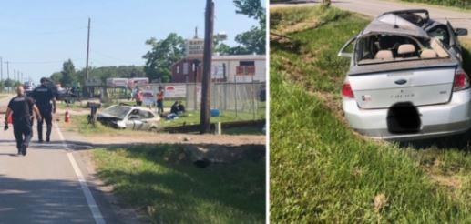 Las fotos del accidente.
