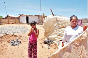 Jornaleros de San Quintín, Baja California, claman agua y comida