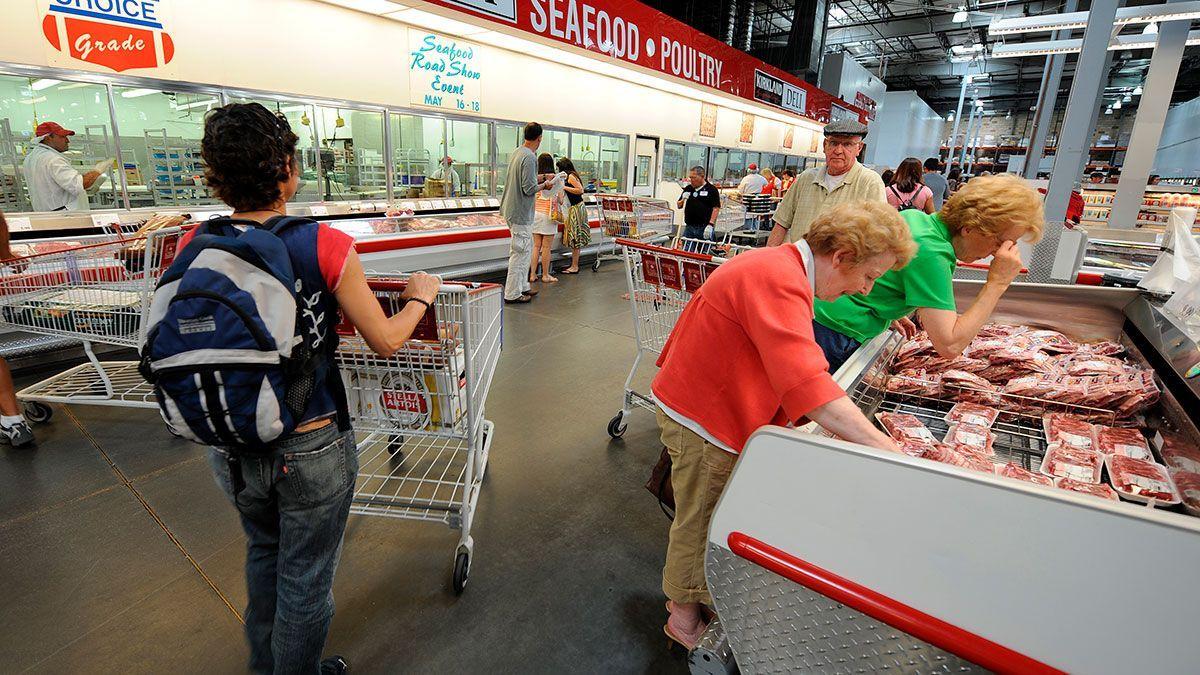 Podrán comprar máximo tres paquetes de carne.