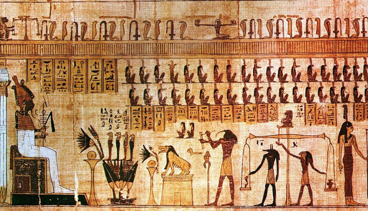 Los signos egipcios están regidos por dioses.