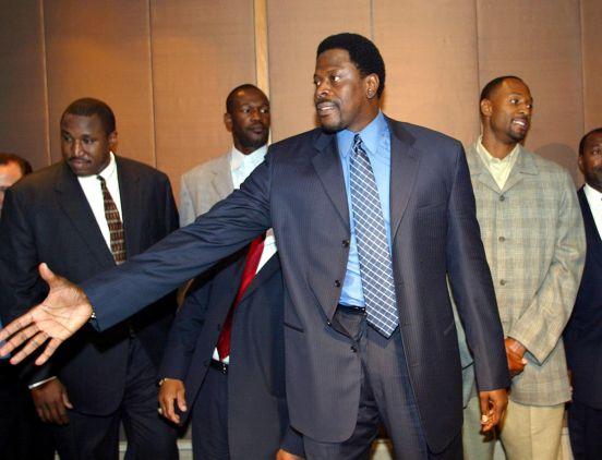 Patrick Ewing, leyenda de los New York Knicks.
