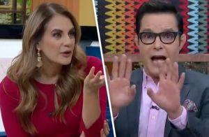 Recuerdan momento incómodo Horacio Villalobos y Flor Rubio en 'Venga la alegría' tras 'desencuentro'