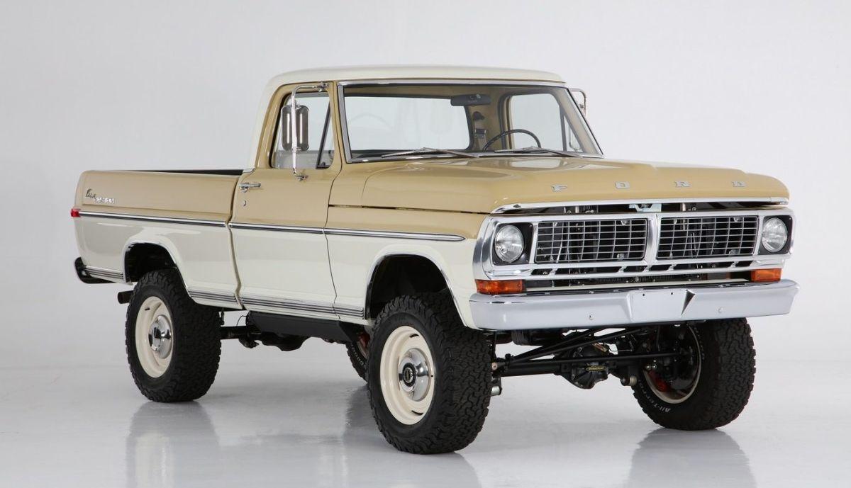Ford Ranger ICON 4x4 Ranger 1970. Crédito: Cortesía Icon.