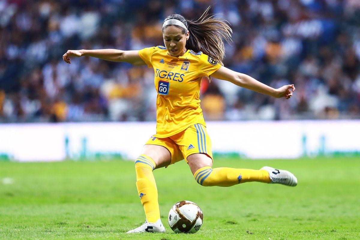 Greta Espinoza, la jugadora de Tigres que desborda talento y belleza