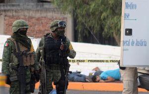 El Cártel Jalisco Nueva Generación promete que se encargará de la paz en Guanajuato