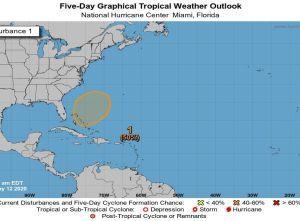 Este fin de semana podría formarse el primer ciclón tropical del año en el Atlántico