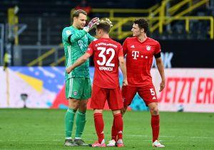 Para los que más extrañaban el fútbol: una obra de arte en el triunfo del Bayern