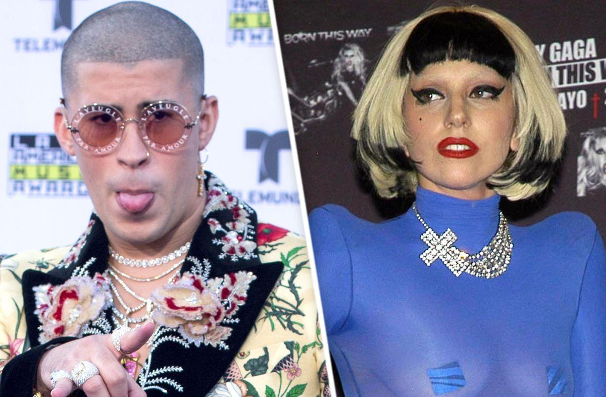 Bad Bunny y Lady Gaga.