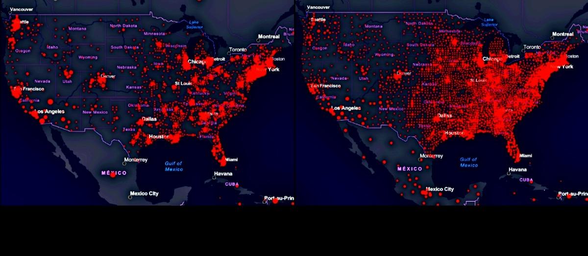 mapa coronavirus