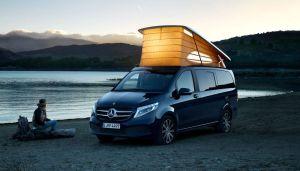 Conoce la furgoneta camper de Mercedes-Benz más lujosa del mercado