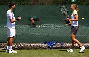 Maria Sharapova recuerda la incómoda y curiosa cita que tuvo con Novak Djokovic