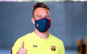 Las mascarillas de los jugadores del Barça son las mismas que puedes comprar