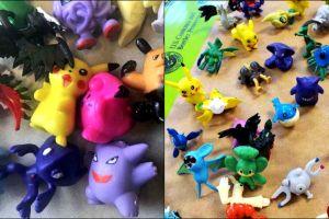 Atrapan más de 86,000 figuras de Pokémon