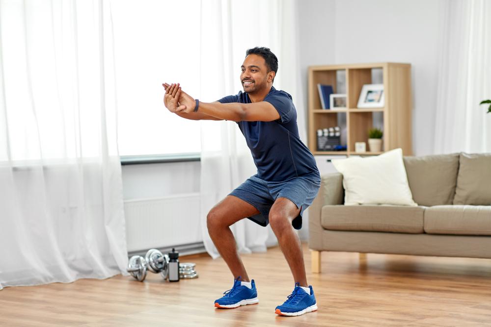 Entrenamiento de cardio en casa para reducir la grasa