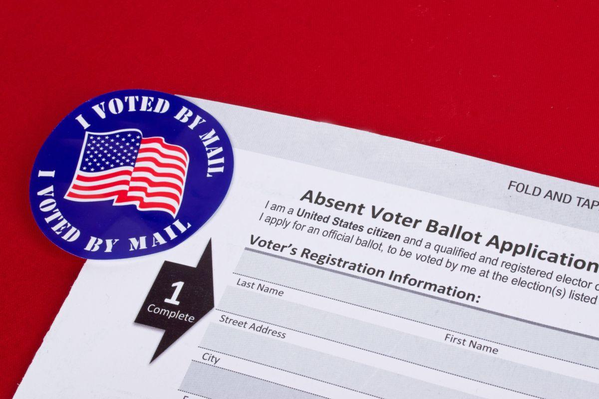 Promueven el voto por correo debido a la pandemia.