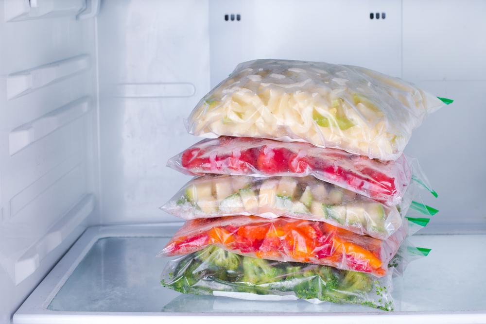 ¿Cuáles son los alimentos congelados saludables?