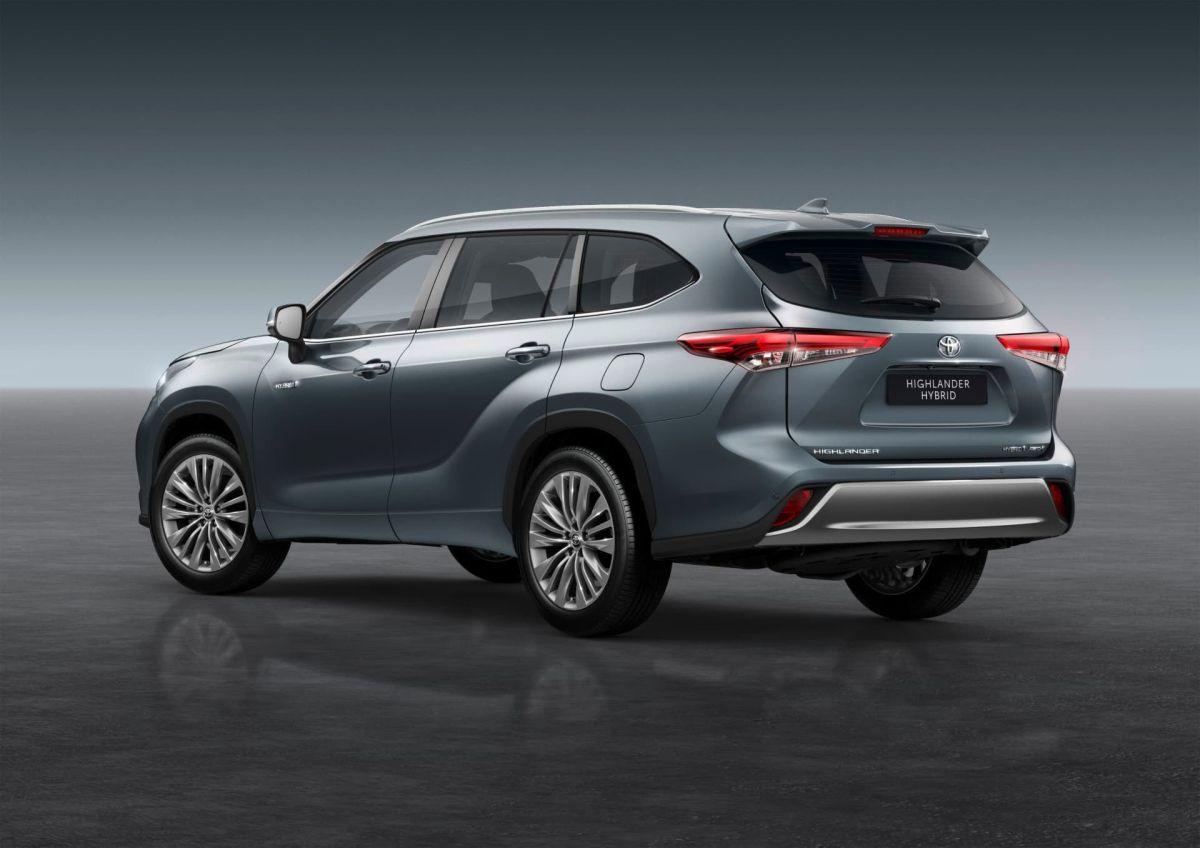 Toyota Highlander Hybrid.  Crédito: Cortesía Toyota.