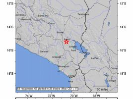 Terremoto de magnitud 6.0 sacude a Perú