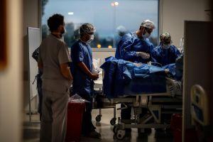Genera indignación transmisión en vivo por televisión muerte de paciente por coronavirus