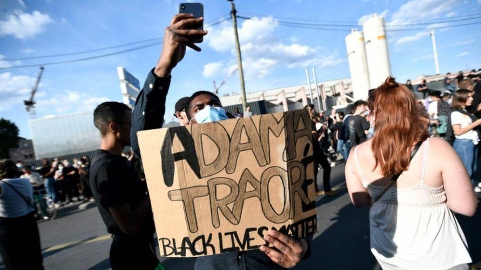 Muerte de George Floyd: Adama Traoré, el caso de violencia policial que volvió a despertar la ira de miles en Francia