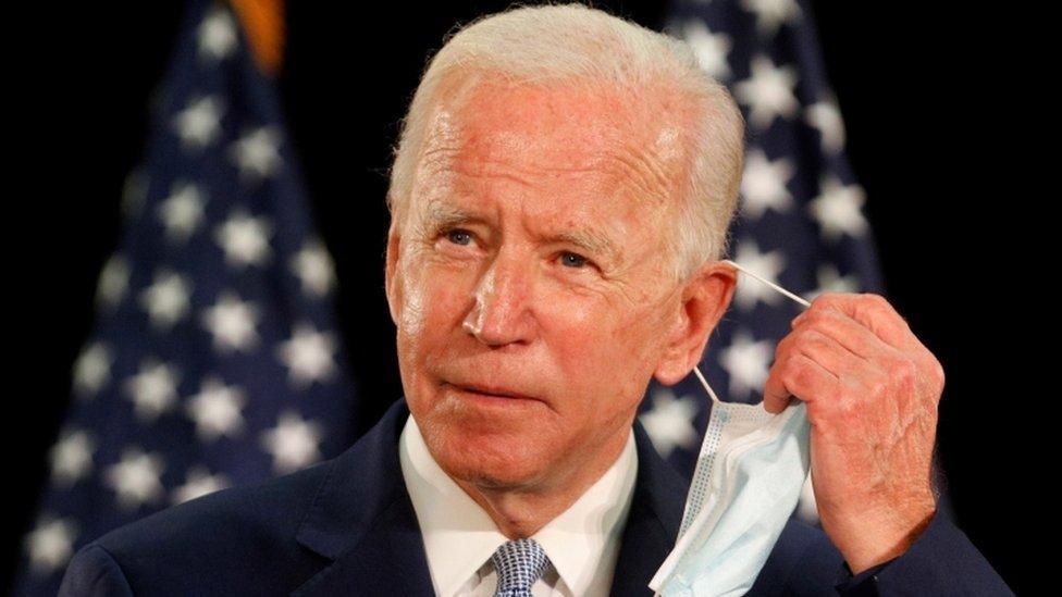 Este es el tercer intento de Biden a la presidencia.
